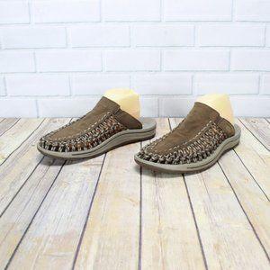 KEEN Uneek Paracord Slip On Sandals Mules